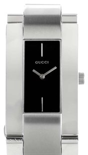 Gucci Gucci Stainless Steel Black Dial Swiss Made Women's Watch