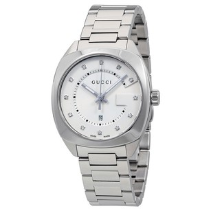 Gucci Gucci White Dial Stainless Steel Ladies Watch