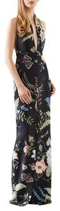 Gucci Halter Limited Edition Floral Print Flora Knight Dress