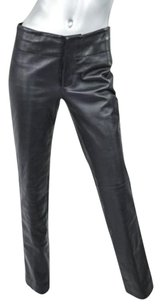 Gucci Womens Leather Pants
