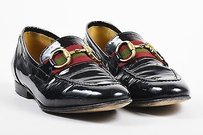 Gucci Patent Leather Black Flats