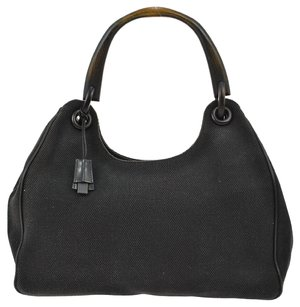 Gucci Logos Hand Tote in Black