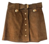 Gucci Mini Skirt Greenish/Brown