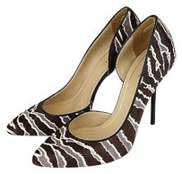 Gucci Noah Pony Hair Zebra Brown/White Pumps
