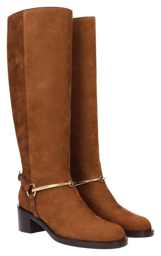 Gucci Nut Brown Boots ...