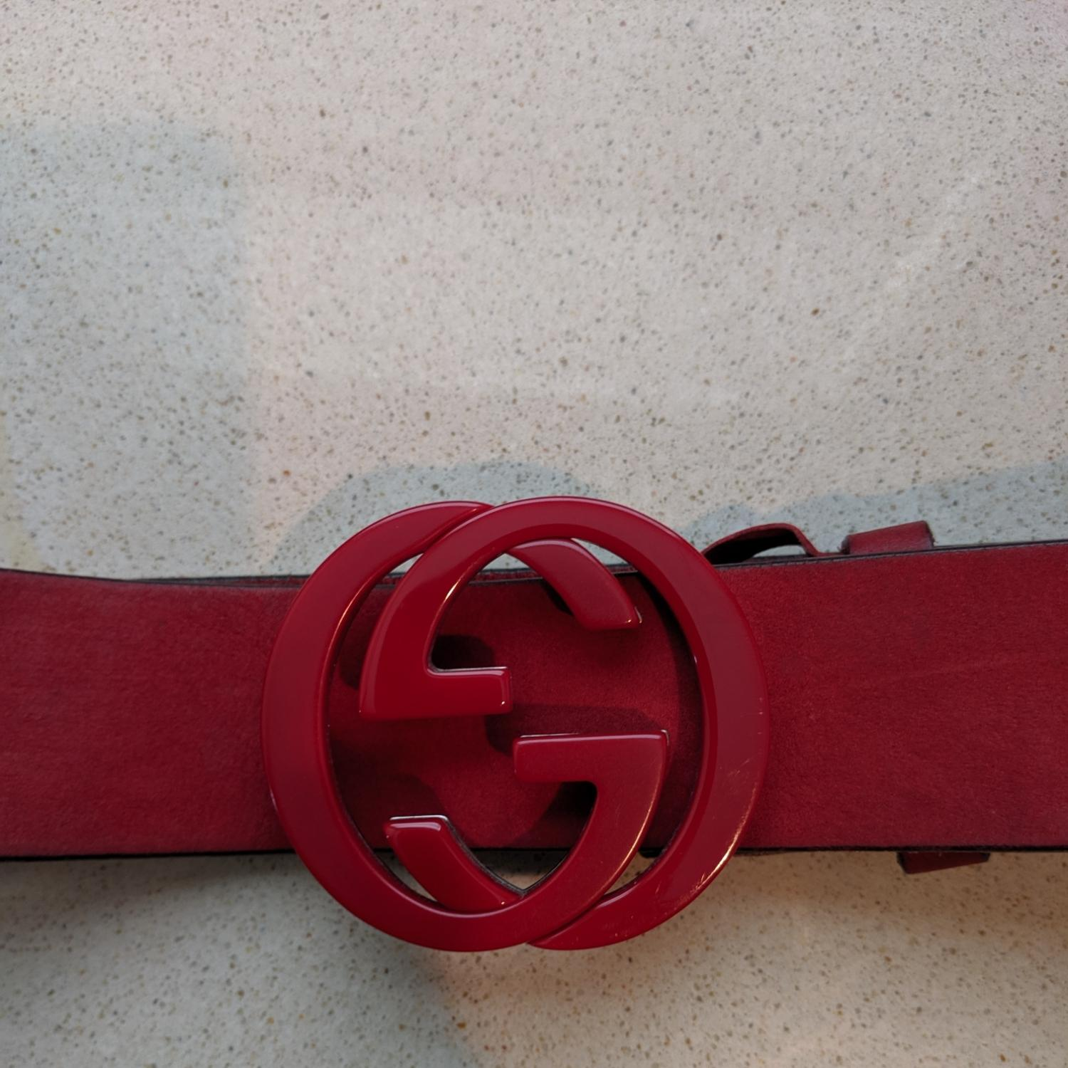Gucci GG interlocking belt (Gucci)