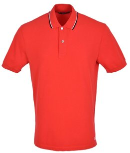 Gucci Men's Polo Polo T Shirt Red