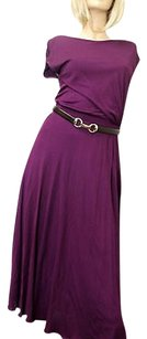 Purple Maxi Dress by Gucci Runway Wleather