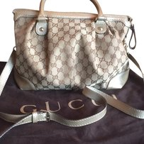 Gucci Satchel in Champagne