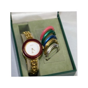 Gucci Vintage Multi Colored Bezel Watch