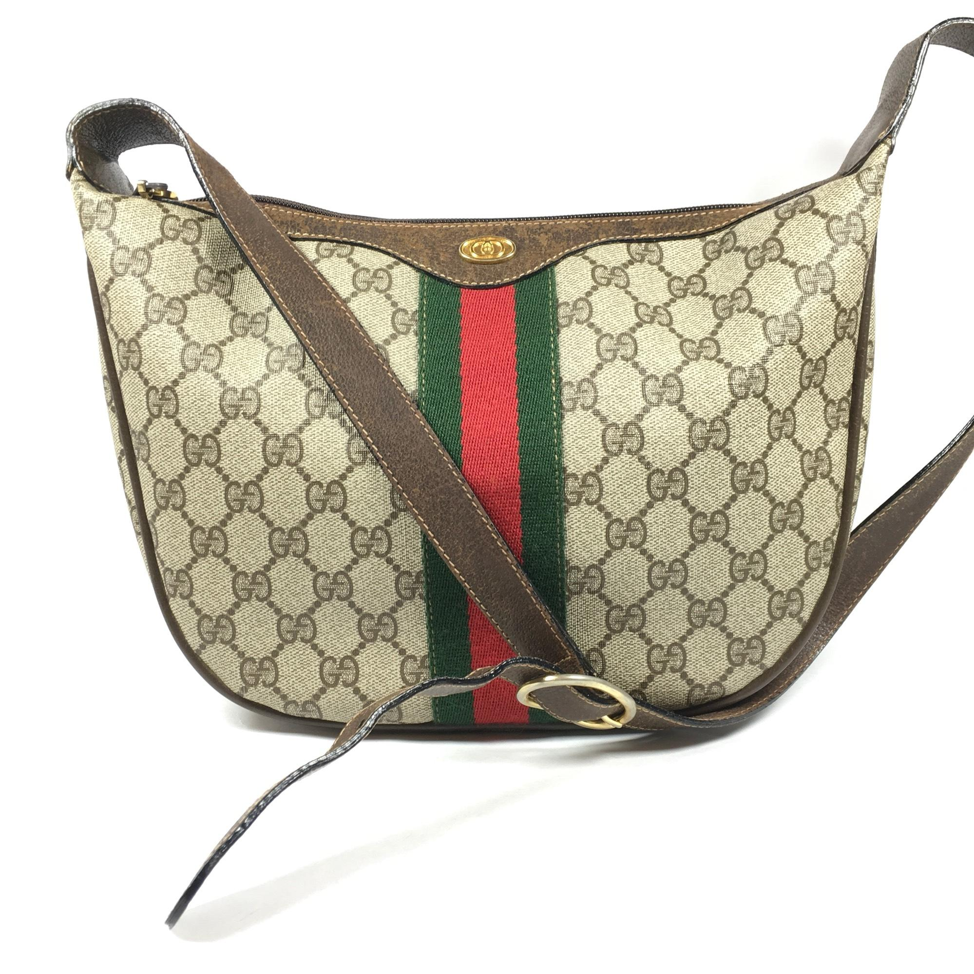 gucci bags used. gucci vintage cross body bag bags used d