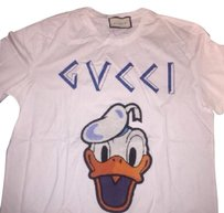 Gucci Donald Duck Shirt New T Shirt White