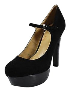 Guess Good Womens black Platforms