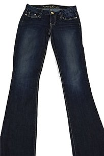 Guess By Mariano Womens Dark Boot Cut Jeans