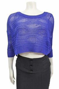 Guess Desert Falls 34 Slv Open Stitch Crop Bloomingdales Sweater