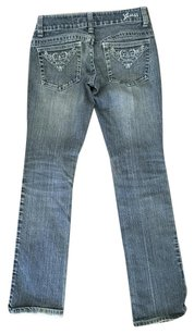 Guess Monogram Levi Gap Boot Cut Jeans-Medium Wash