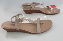 Guess Casual Leather Beige Sandals