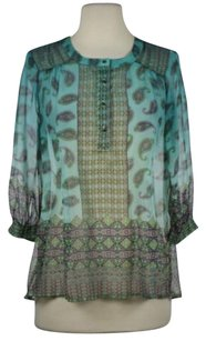 Gypsy05 Gypsy Womens Teal Tunic