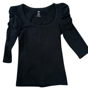 H&M Guess Zara Gap Coach Top black