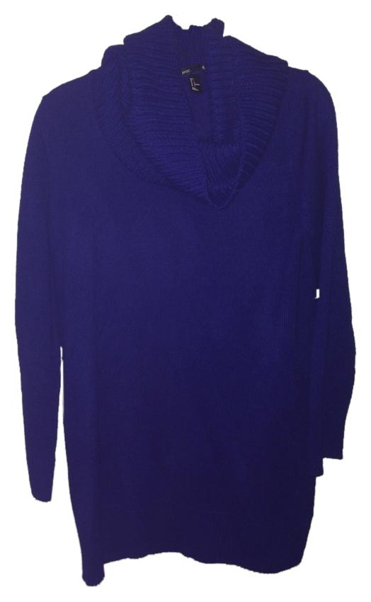 85off Hm Blue Sweater Dress Hydrocleanno