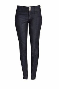Habitual Cinch Double Button Skinny Jeans