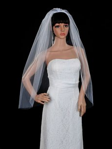 Other White Cut Edge Veil In 1 Layer ---- New!!!!!!!!!!!!!!!