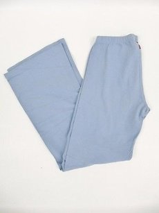 Hard Tail Hard Tail Forever 332 Blue Cropped Flare Leg Yoga Pants