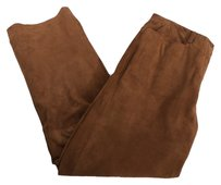 HAROLD'S 1948 Vintage Suede Leather Trouser Pants LIGHT BROWN