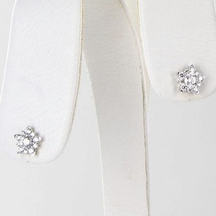 Hearts on Fire Hearts On Fire Aerial Cluster Earrings 0.50cts Diamonds 18k White Gold