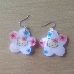 Hello Kitty Hello Kitty Earrings