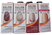 Helly Hansen Lot of 4 SALLY HANSEN Salon Effects Nails