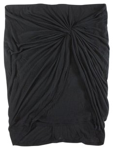 Helmut Lang Black Mini Lg Skirt