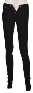 Helmut Lang Womens Navy Cordoroy Casual 25 Trousers Pants