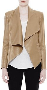 Helmut Lang Overlapped Petal Leather Field Motorcycle Jacket