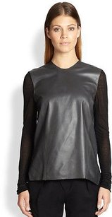 Helmut Lang Smooth Top Black