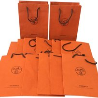 Hermès 13 Pieces Authentic Hermes Shopping Tote Giftbags