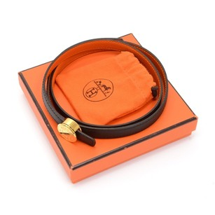 Herms Authentic Hermes Thin Belt Size 60