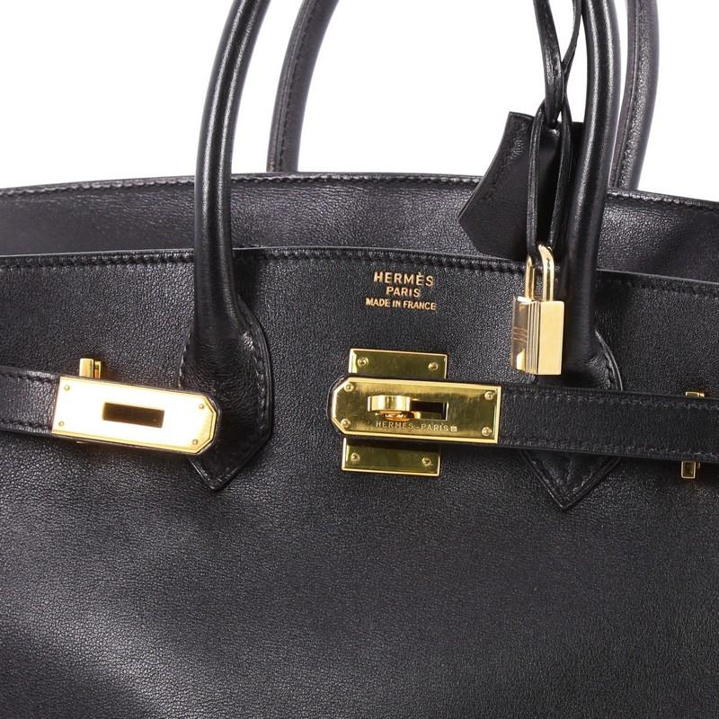 b9e7a4c4e3 ... czech hermès birkin handbag gulliver with gold hardware 30 black  leather b415c 3fe26