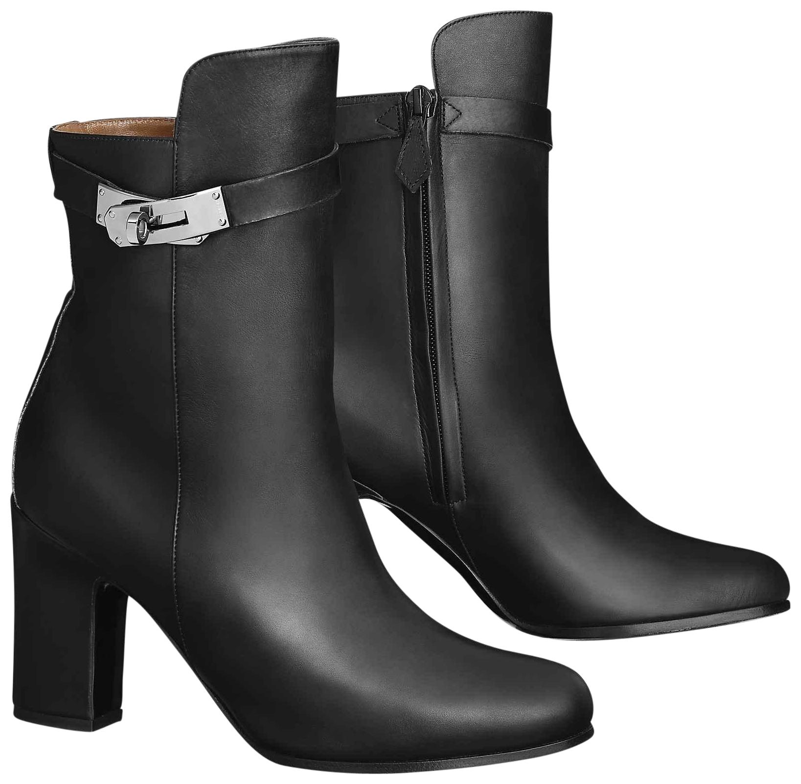 free shipping cheap real footlocker finishline sale online Hermès Leather Ankle Boots free shipping genuine get to buy sale online ZiZAij