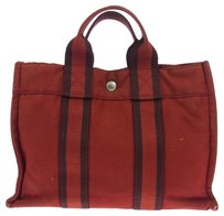 Hermès Hermes Fourre Tout Tote in Red