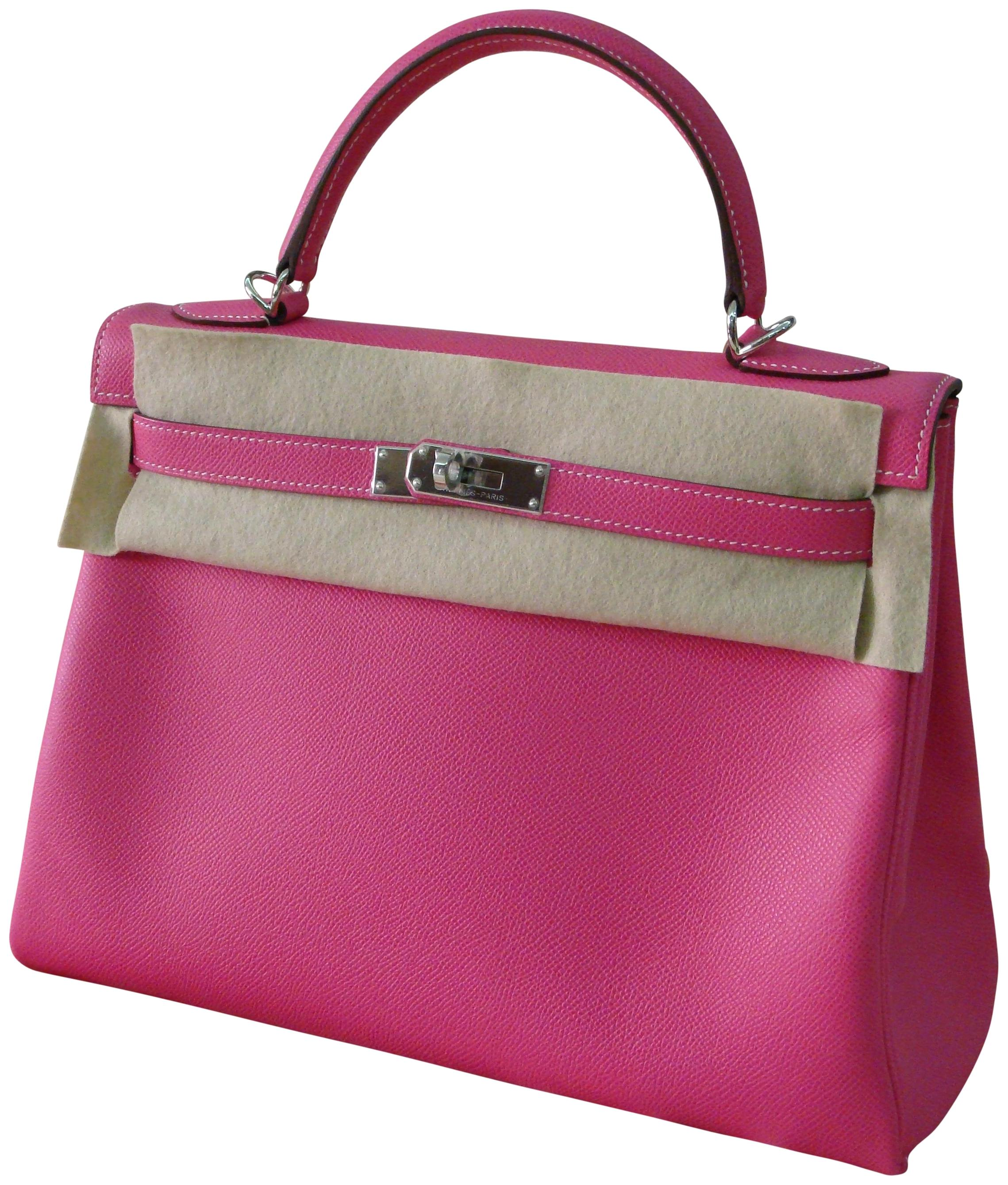 5794cf2284df ... discount code for hermès kelly pink kelly 32cm satchel in rose tyriene  c9e21 6e0e8