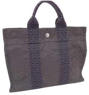 Herms Tote in Grey