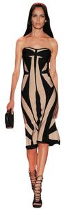 Hervé Leger short dress BLACK COMBO on Tradesy