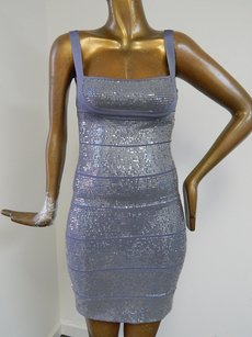 Hervé Leger Sequin Bandage Dress