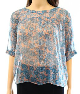 Hinge 100% Polyester Batwing Top