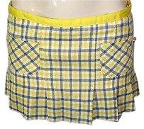 Hollister Jr Gray Skirt Yellow