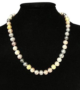 Honora Honora Multi Color Cultured Freshwater Pearl Stainless Steel 20 Necklace B3379
