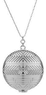 House of Harlow 1960 House of Harlow 1960 Medallion Locket Necklace in Silver