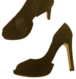Hugo Boss Black suede Platforms
