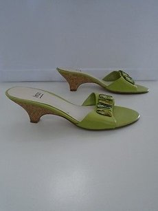 Impo Platforms Wedges Green Sandals